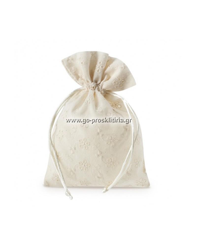 ΜΠΟΜΠΟΝΙΕΡΕΣ ΓΑΜΟΥ Υφασμάτινο πουγκί ΚΩΔ.: ΓΠ1703