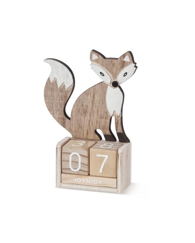 ΜΠΟΜΠΟΝΙΕΡΕΣ ΒΑΠΤΙΣΗΣ Ημερολόγιο αλεπού  ΚΩΔ.:ΒΠ 17425