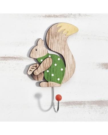ΜΠΟΜΠΟΝΙΕΡΕΣ ΒΑΠΤΙΣΗΣ Κρεμάστρα σκίουρος  ΚΩΔ.:ΒΠ 17431