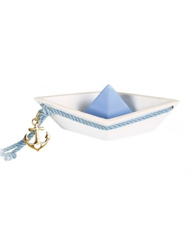 Μπομπονιέρα Βάρκα Πολυεστερική με Κορδόνι / 82101