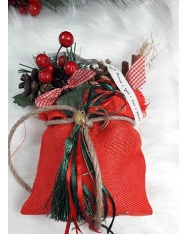 Χριστουγεννιάτικο Διακοσμητικό πουγκακι ΚΩΔ.: 202173